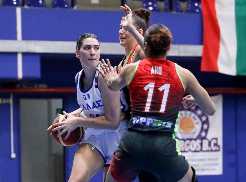 Γυναικών: Κροατία – Ελλάδα 61-41