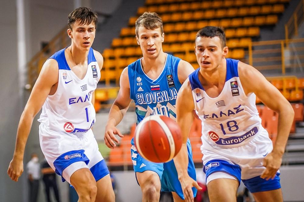 Νέων Ανδρών: Ελλάδα – Σλοβενία 63-84 (vid)