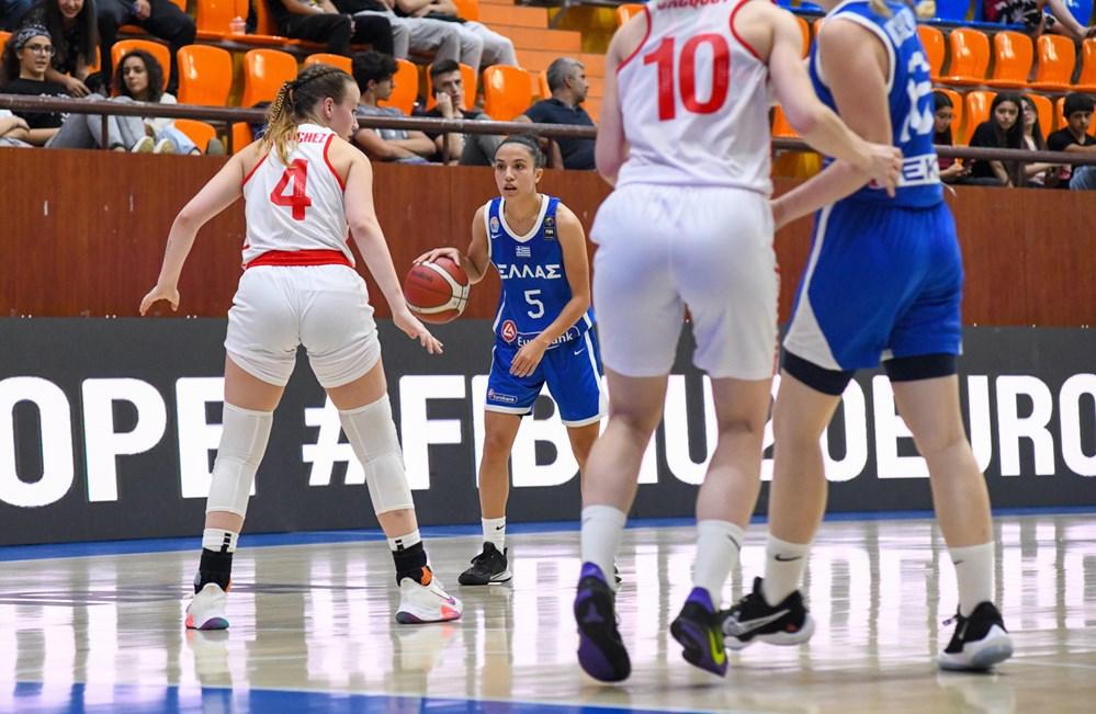 Νέων Γυναικών: Ουκρανία – Ελλάδα 54-59 (vid)